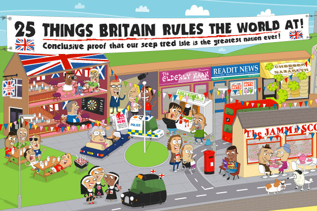 25 Things Britain Rules The World At (pt.1)