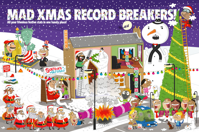 Mad Xmas Record Breakers