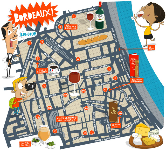Bordeaux Wine Bars