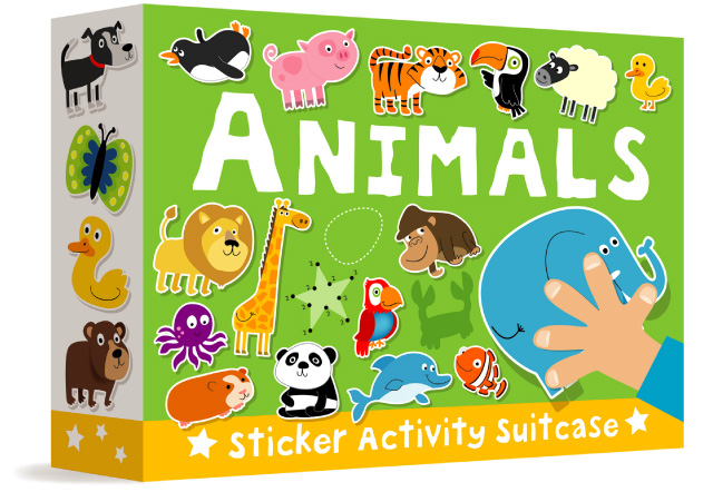Animals Sticker Activity Suitcase