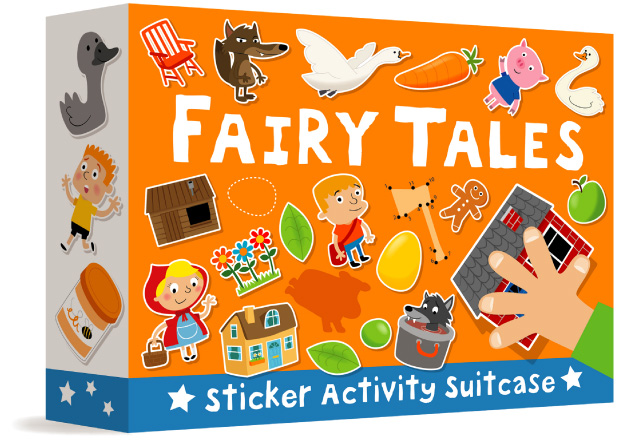 Fairy Tales Sticker Activity Suitcase