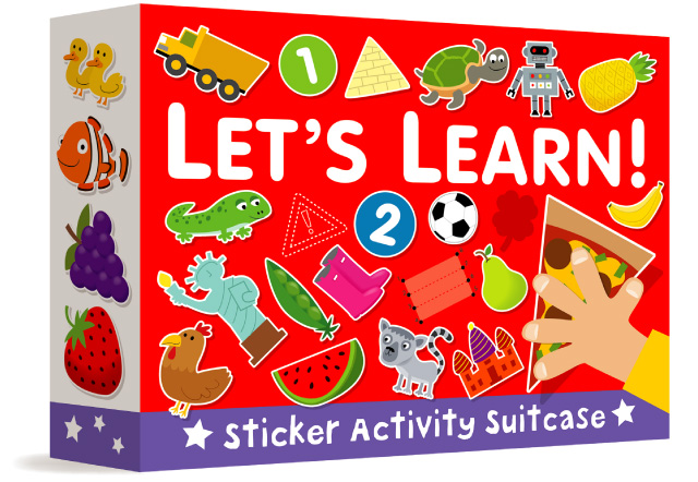 Let's Learn Sticker Activity Suitcase