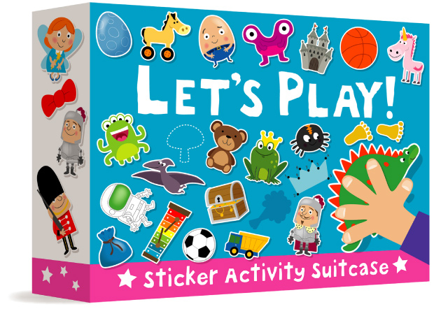 Let's Play – Sticker Activity Suitcase