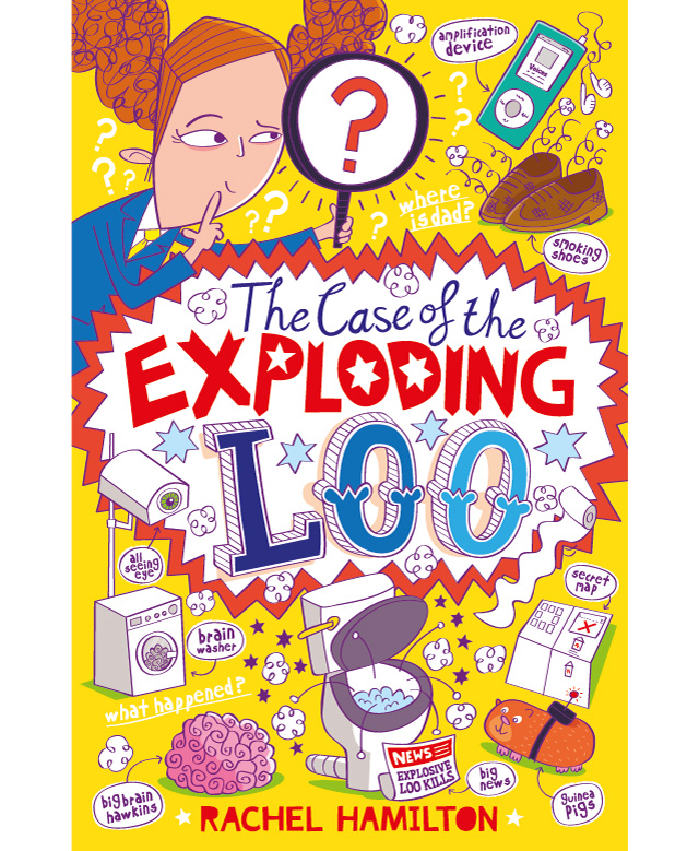 The Case of the Exploding Loo – Cover