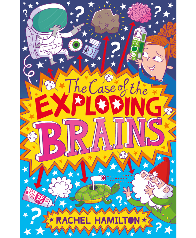 The Case of the Exploding Brains – Cover